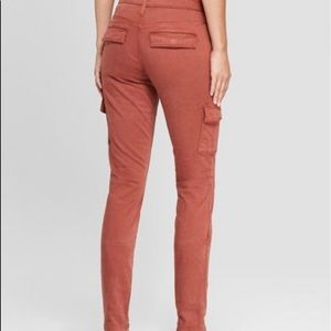 Universal Thread High Rise Skinny Cargo Jeans Sz 0